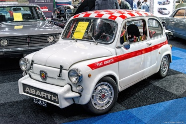 Abarth Fiat 850 TC berlina corsa 1965 replica fl3q