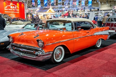 Chevrolet Bel Air Sport hardtop coupe 1957 fl3q