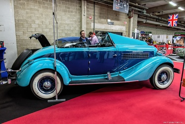 Auburn 851 Supercharged cabriolet 1935 side