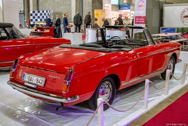 Peugeot 404 cabriolet by Pininfarina 1966 r3q