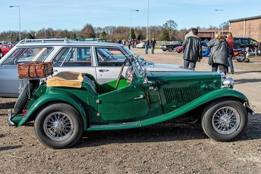 MG TD Midget competition 1953 side