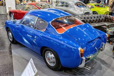 Abarth 750 GT S2 coupe by Zagato 1958 r3q