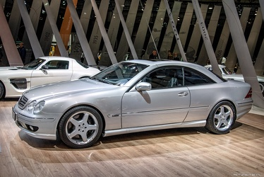 AMG Mercedes CL 55 F1 Limited Edition C215 2001 side
