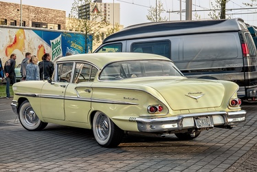 Chevrolet Bel Air 4-door sedan 1958 r3q