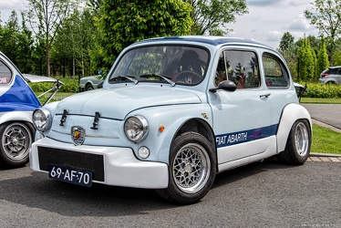 Abarth Fiat 1000 TCR Group 2 berlina corsa replica 1970 fl3q