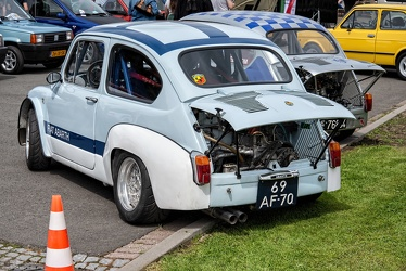 Abarth Fiat 1000 TCR Group 2 berlina corsa replica 1970 r3q