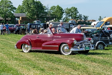 Pontiac Torpedo 8 DeLuxe convertible coupe 1948 fr3q